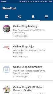 SharePost - Facebook Posts - náhled