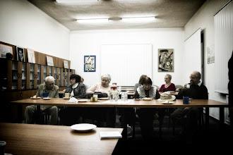 Photo: Projekce filmu Ondřeje Grošafta o hrůzách holocaustu a diskuze na Židovské obci v Ostravě (středa 7. prosinec 2011).