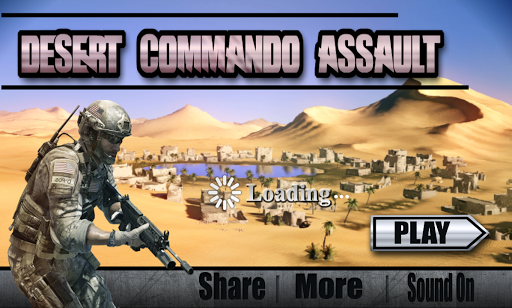 Commando Desert Assault: Army