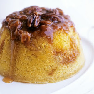 Toffee Nut Sponge Pudding