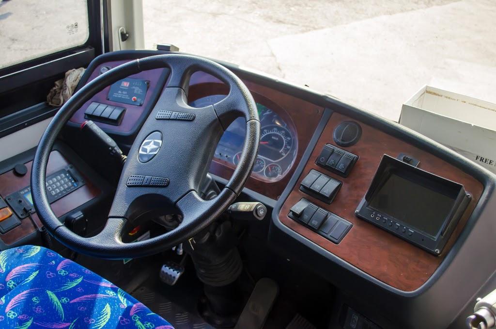 Asiastar. кабина водителя