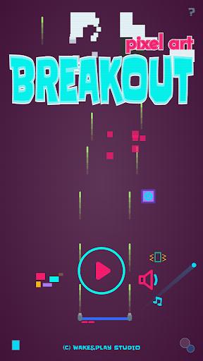 Brick Breaker - Breakout Pixel Art 1.1.2 screenshots 1