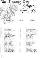 Photo: 1985 08 09 Tree Planting Day