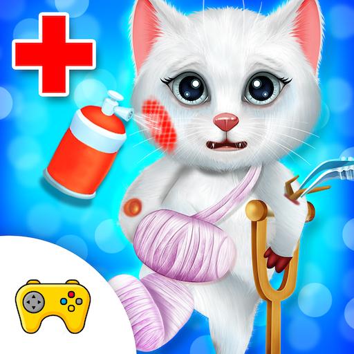 Kitty & Puppy Doctor Checkup Hospital