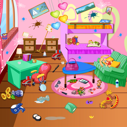 Princess Room Cleanup - Cleaning & decoration game Icon