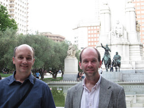 Photo: David and Scott in Madrid for the TQC (Theory of Quantum Computation) conference