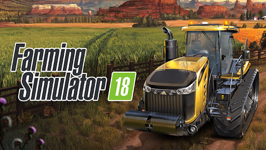 Farming Simulator 18 1.1.0.2 Cracked APK + Data 1