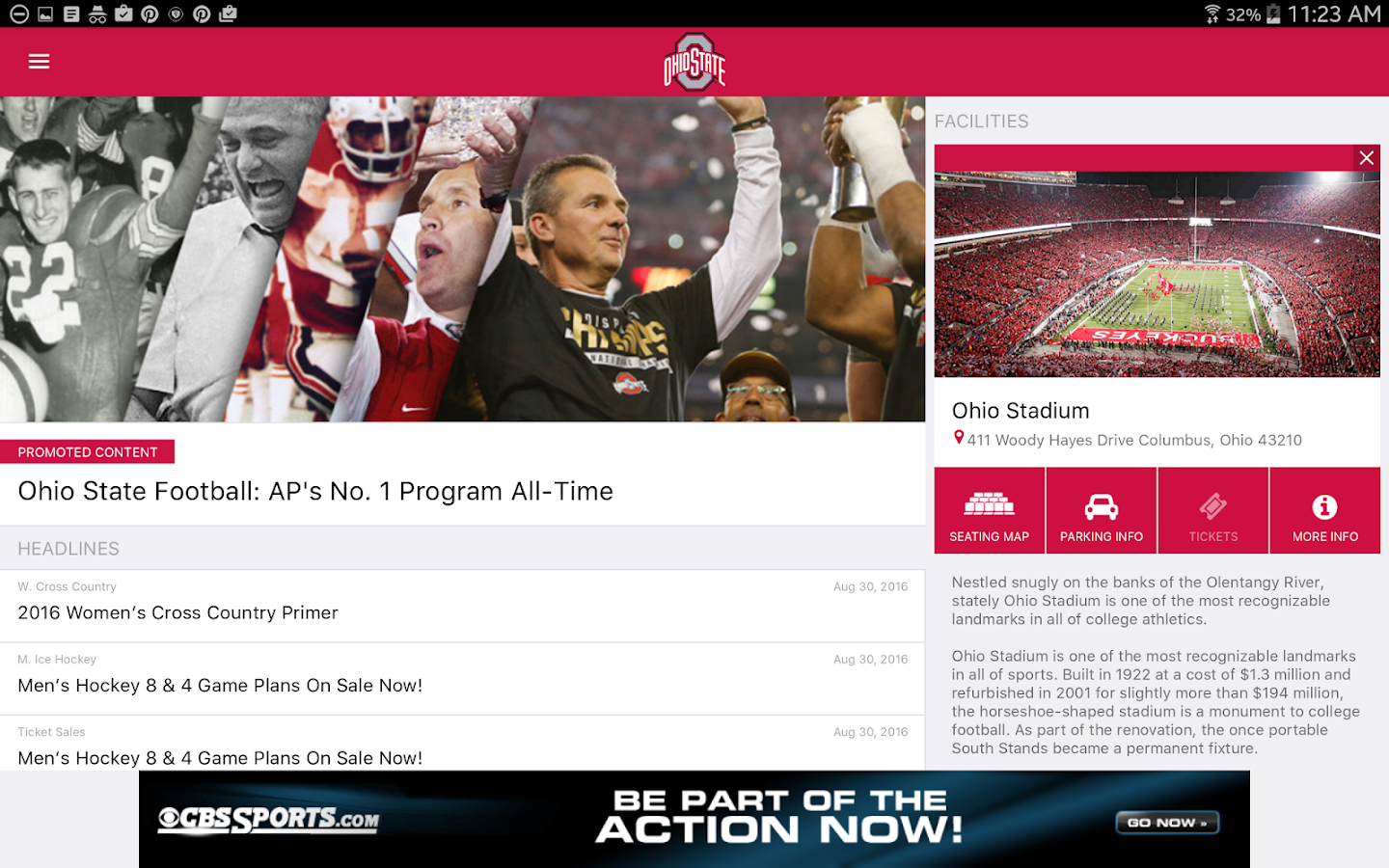 OSU Buckeyes Gameday LIVE- screenshot