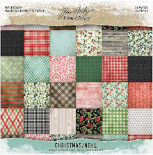 Tim Holtz Idea-Ology Paper Stash Paper Pad 8X8 24/Sheets - Christmas 2020