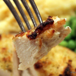 Parmesan Mayonnaise Baked Skinless Chicken Breast