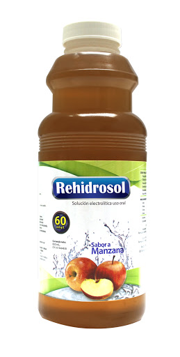 electrolitos rehidrosol manzana 45meq/l 600ml behrens