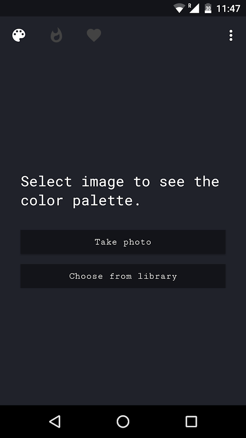 Palette- screenshot