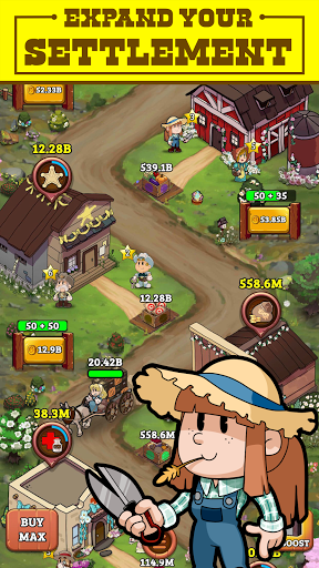 Idle Frontier: Tap Town Tycoon modavailable screenshots 15