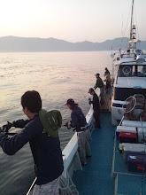 """Photo: 最近、ずーっと""""ナギ""""でございます。あとは、お魚が釣れるだけ!ガンバロー!"""