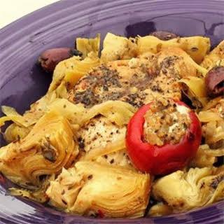 Spicy Mediterranean Chicken.