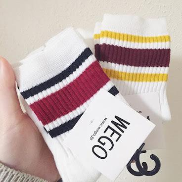 ᴍᴀʀ.2016/ #現貨 #日本 早前Hailey於日本帶回來的襪子👟 每款數量有限 售完補不了貨喔 - 日本短襪 / HKD28對 兩對以上包郵💌