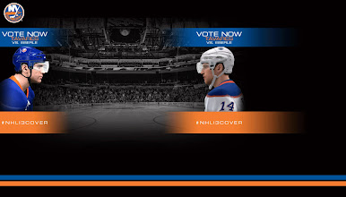 Photo: Need a Twitter background? Nothing says head to head competition better than this.