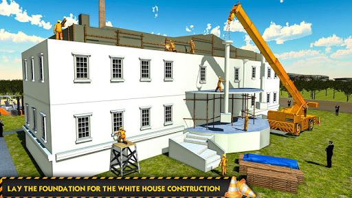 White House Building Construction Games City Build 1.0.4 screenshots 2