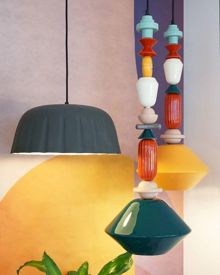 lampade da soffitto per ingresso contemporaneo