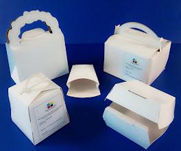 Photo: Caixas para alimentos diversos para delivery e fastfood.