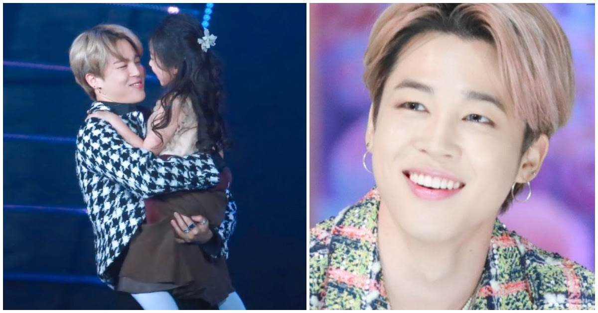 Bts S Jimin Gave The Little Girl From Sbs Gayo Daejeon A Whole Box