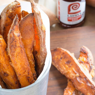 Oven Roasted Sweet Potato Wedges.