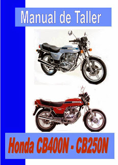 Honda CB 250 N  manual-taller-servicio-despiece