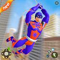 Superhero Captain Robot Games: Super Hero Man Game icon