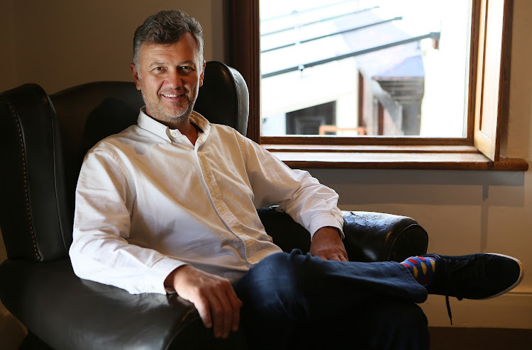 Hard at work: Former First National Bank CEO Michael Jordaan is the principal backer of VALR. The platform has also attracted funding from US-based Bittrex, one of the largest exchanges in the world. Picture: RUVAN BOSHOFF/FINANCIAL MAIL