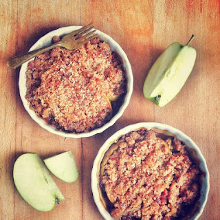 Bourbon Bacon Apple Crisp
