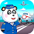 Airport professions: Kids games with Panda file APK Free for PC, smart TV Download