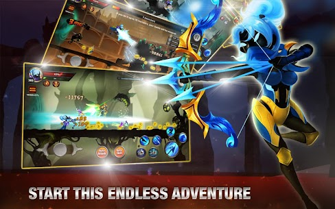 Stickman Legends: Shadow War – Ninja Warriors 9