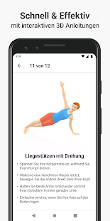 Seven - die 7 Minuten Trainings Challenge Screenshot