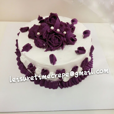 Purple Potato cake