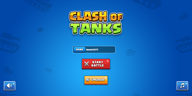 Clash Of Tanks Screenshot