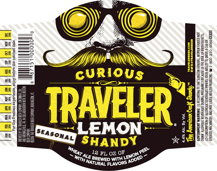 Logo of Traveler Curious Traveler Lemon Shandy