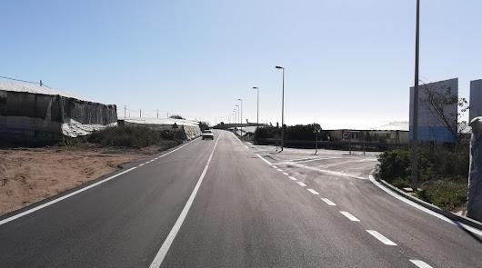 Diputación culmina la mejora en la carretera que conecta Balerma y Balanegra