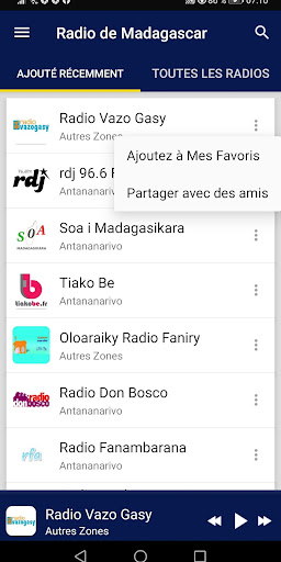 Madagascar Radio Stations screenshot 2
