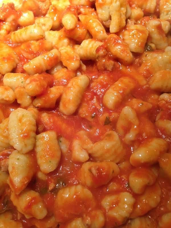 Homemade Ricotta Gnocchi