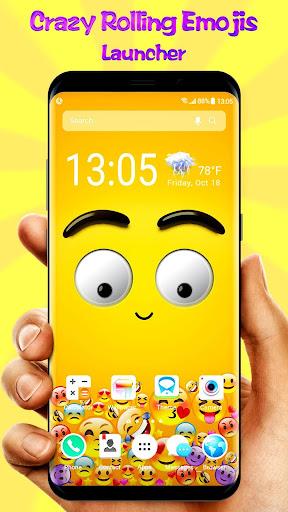 PC u7528 3D Rolling Emoji Gravity Live Wallpaper & Launcher 1