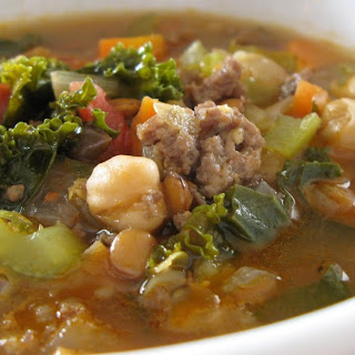 Sausage-Kale Soup.