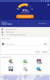 Rocket VPN – Internet Freedom- screenshot thumbnail