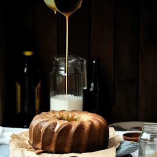 Kahlúa Caramel Almond Bundt Cake