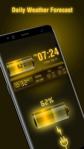 Weather Forecast Widget with Battery and Clock 16.6.0.6206_50092 Screenshots 2