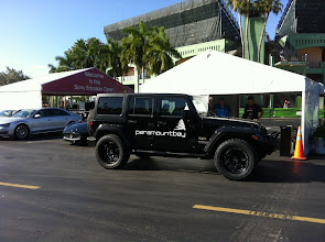 Photo: Spotted at the Sony Ericcson: The Paramount Bay Jeep! Have you seen it? Snap a pic and share it with us!