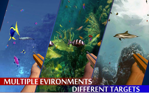 Spearfishing Wild Shark Hunter - Fishing game apkpoly screenshots 11