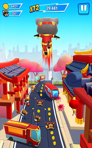 Talking Tom Hero Dash - Run Game 1.6.1.941 screenshots 21