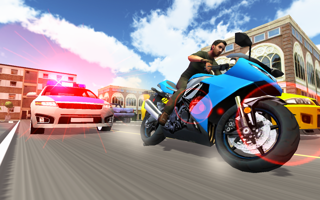 Screenshots of Moto Racer 3D for iPhone