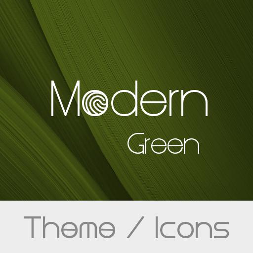 Modern Green Theme  + Icons