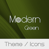 Modern Green Theme  + Icons